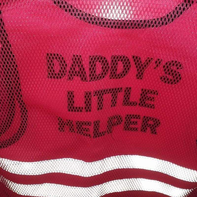 Daddy's little helper hi vis jacket age 6-12 months