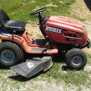 42 in Huskee Mower