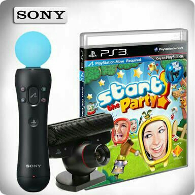 Playstation starter kit - handle camera cd