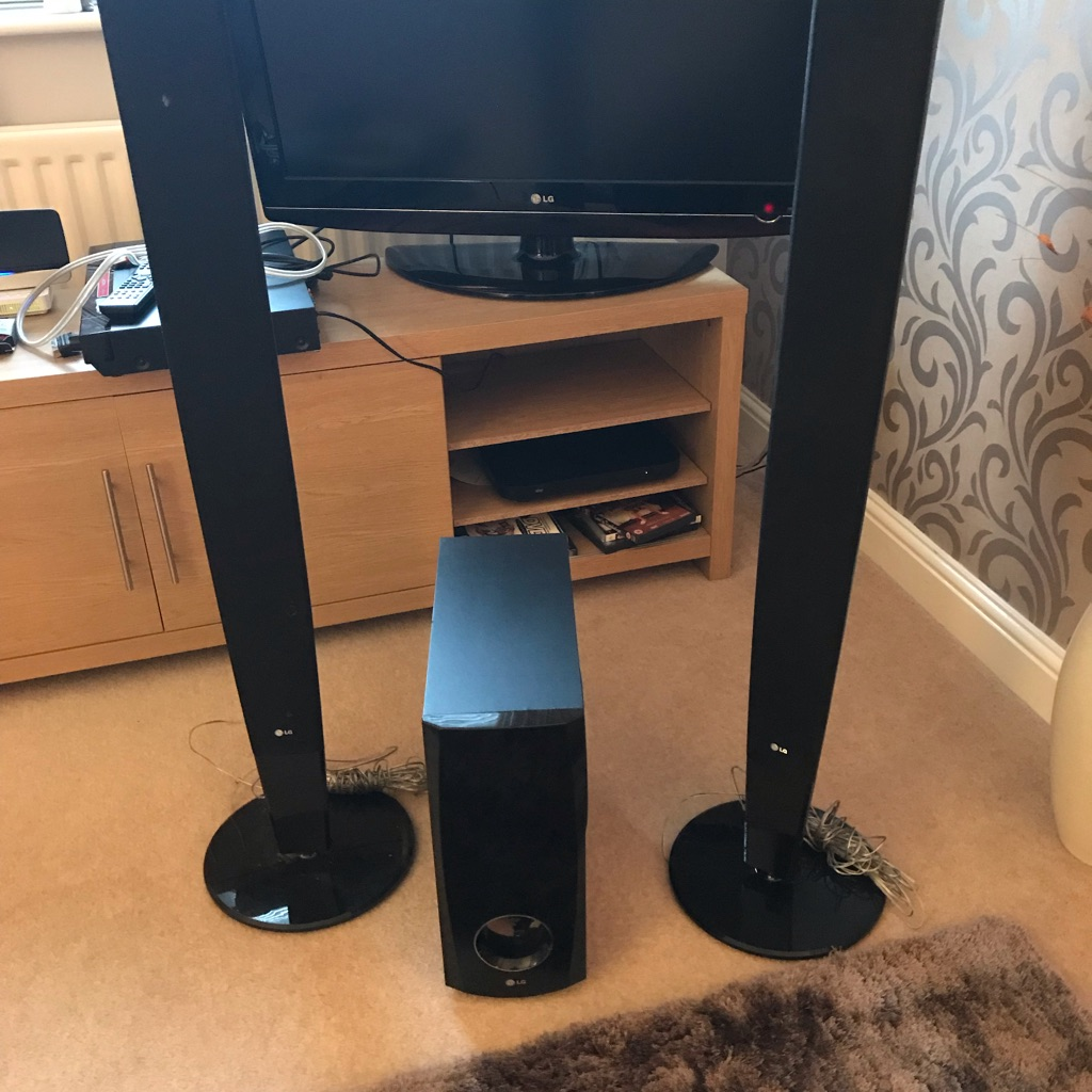 LG DVD Player & surround sound system