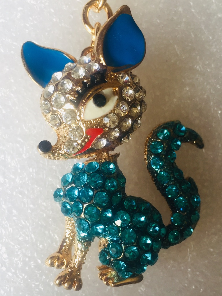 Keys ring holder with fox *****1