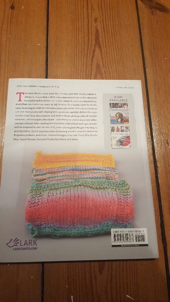 Brand new knitting book