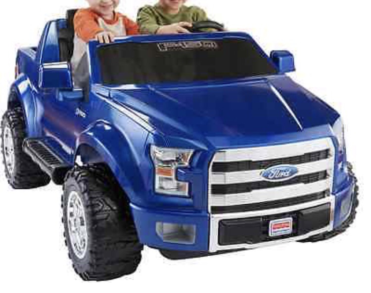 Blue Ford Jeep Kids Toy