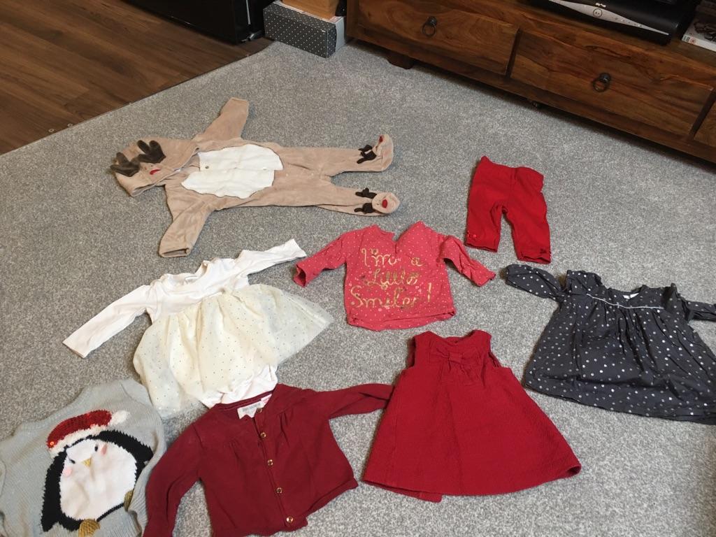 Baby Girls Winter/ Christmas Bundle