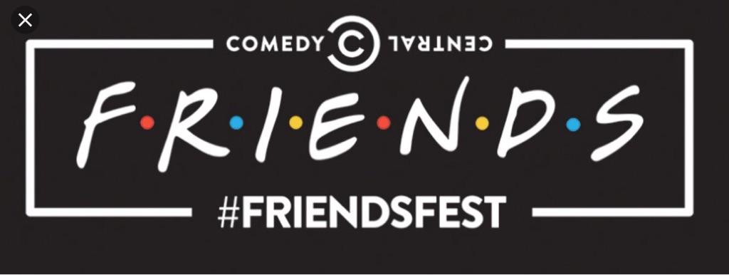 x2 Friendsfest Bristol  Fri 24th Aug tickets 7pm viewing