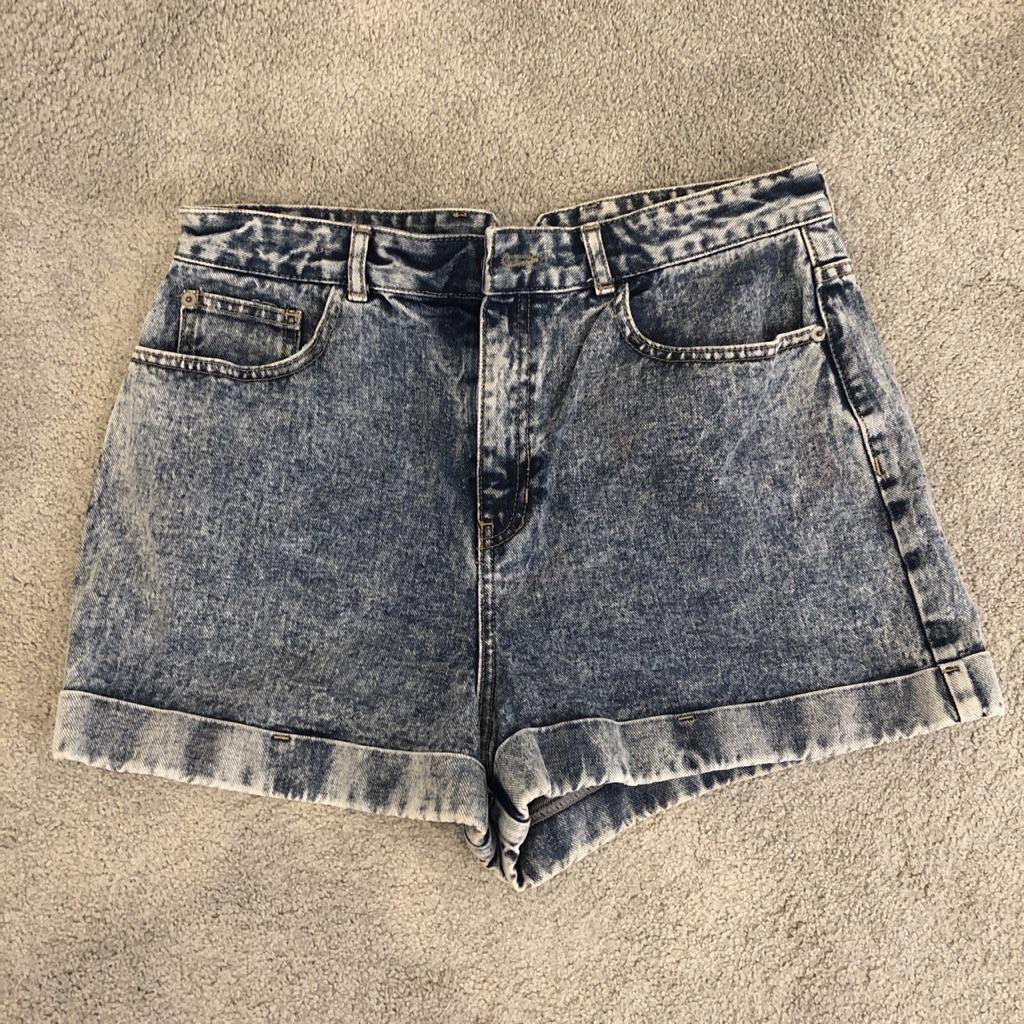 River island denim shorts