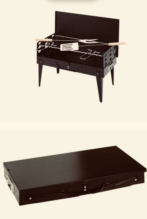 PORTABLE PICNIC GRILL - HOME BBQ
