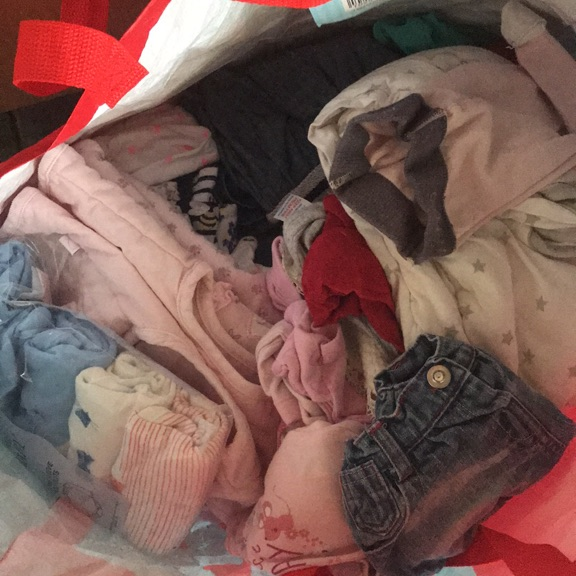 £5 massive bag of baby girls clothes