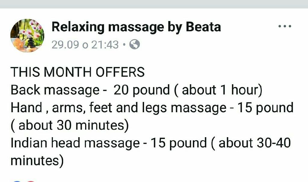 Massage Weston super mare