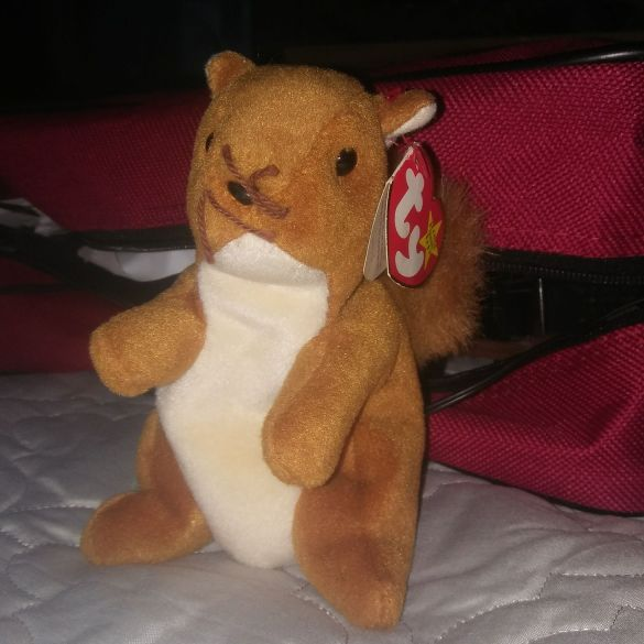 TY Beanie Baby Nuts Rare