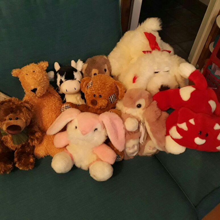 Lovely bundle of soft toys