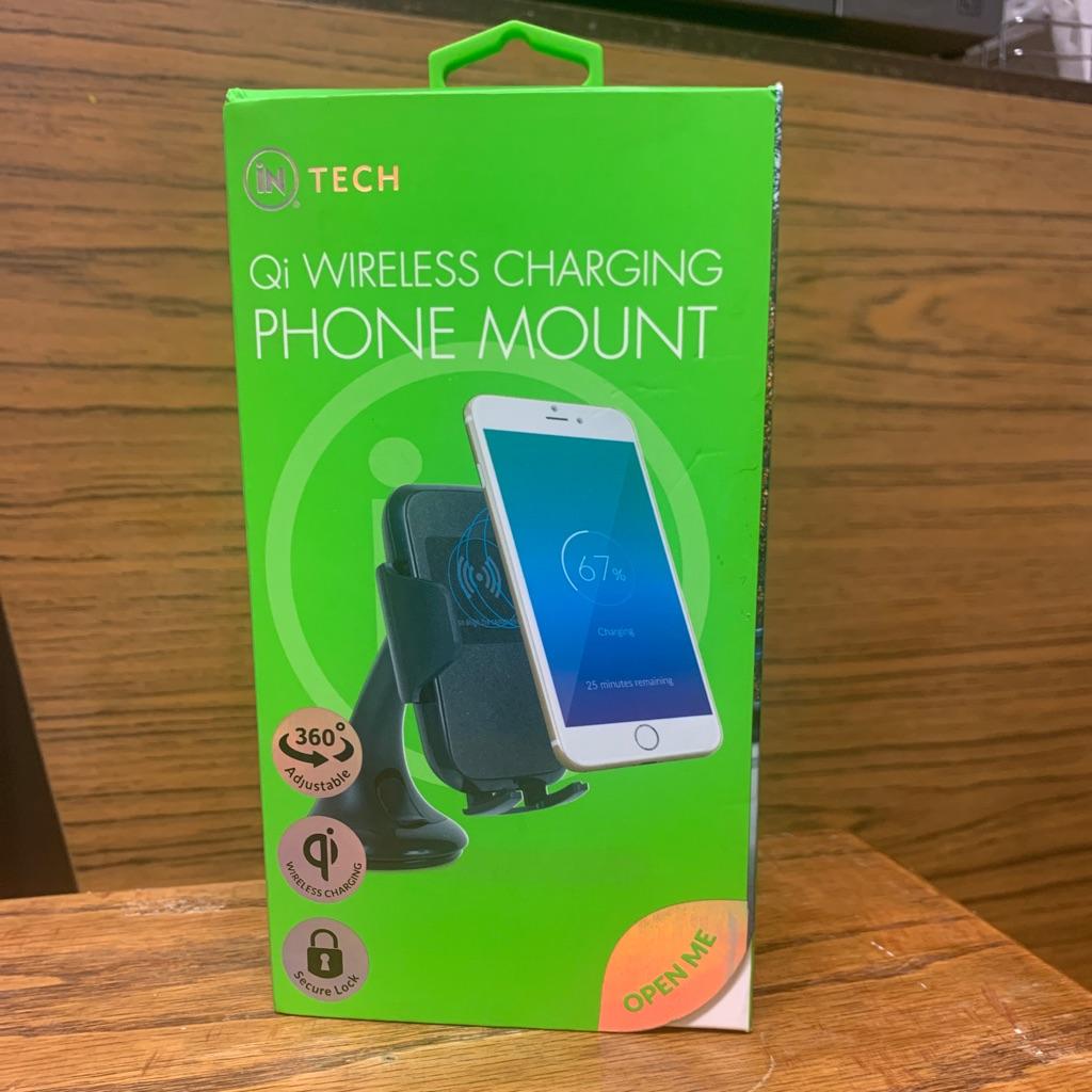 Wireless Phone Charging Mount