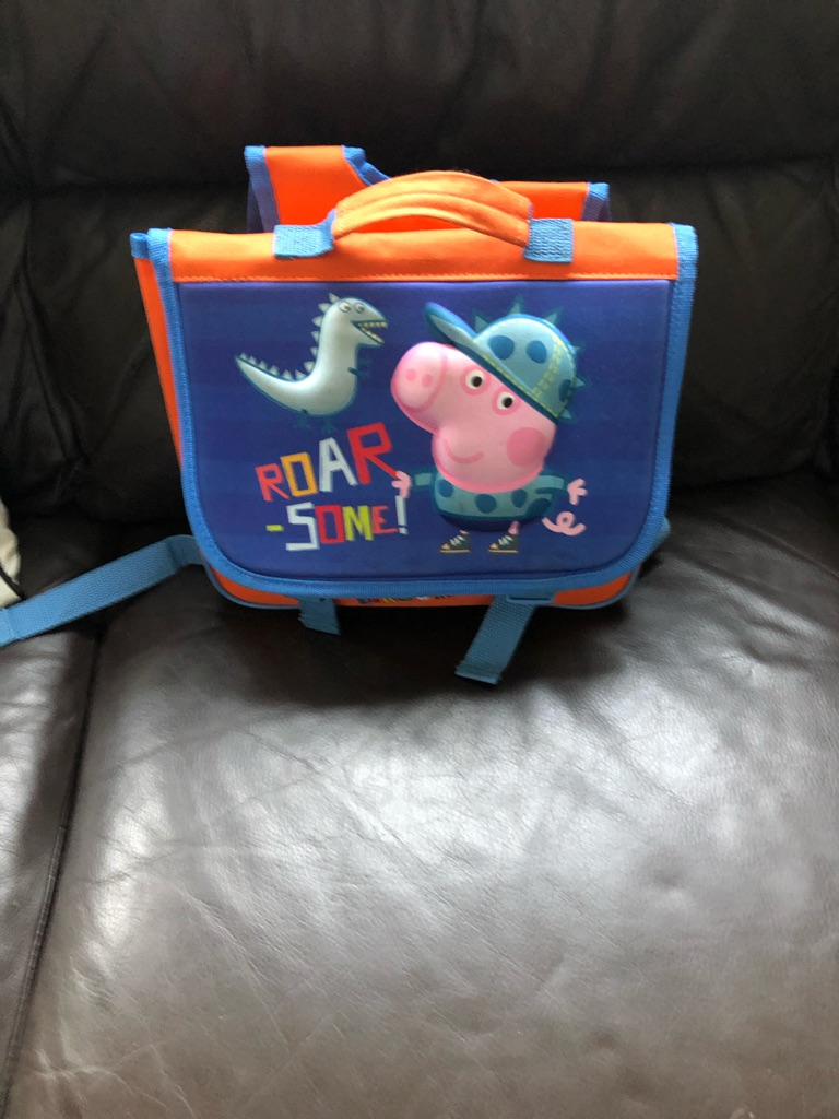 Boys George pig bag
