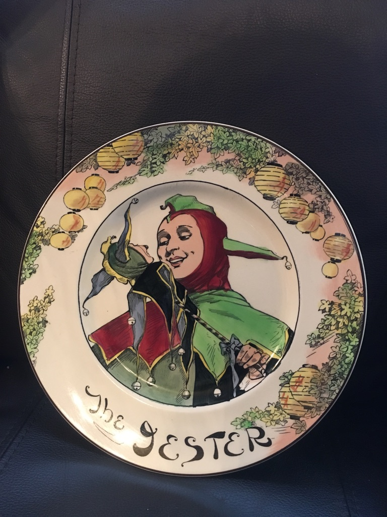 Royal doulton JESTER plate collectors
