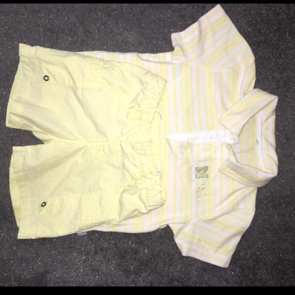 Mitch and son outfit age 2