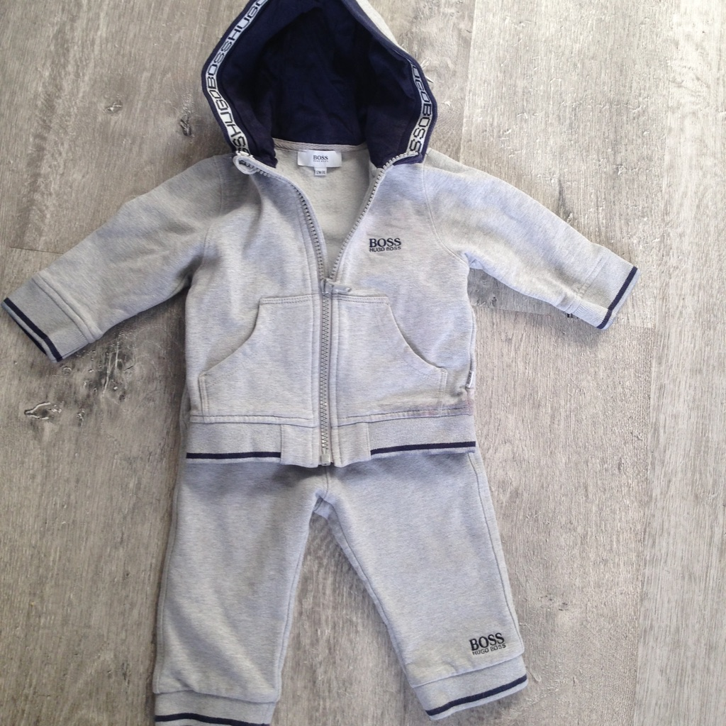 Hugo boss tracksuit with top
