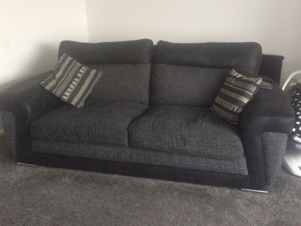 Sofa and cuddle chair