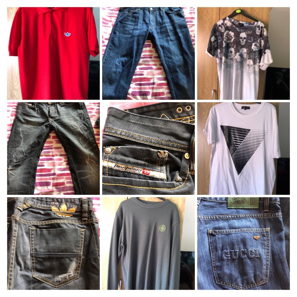 Men's Clothes Bundle (Bag Full)