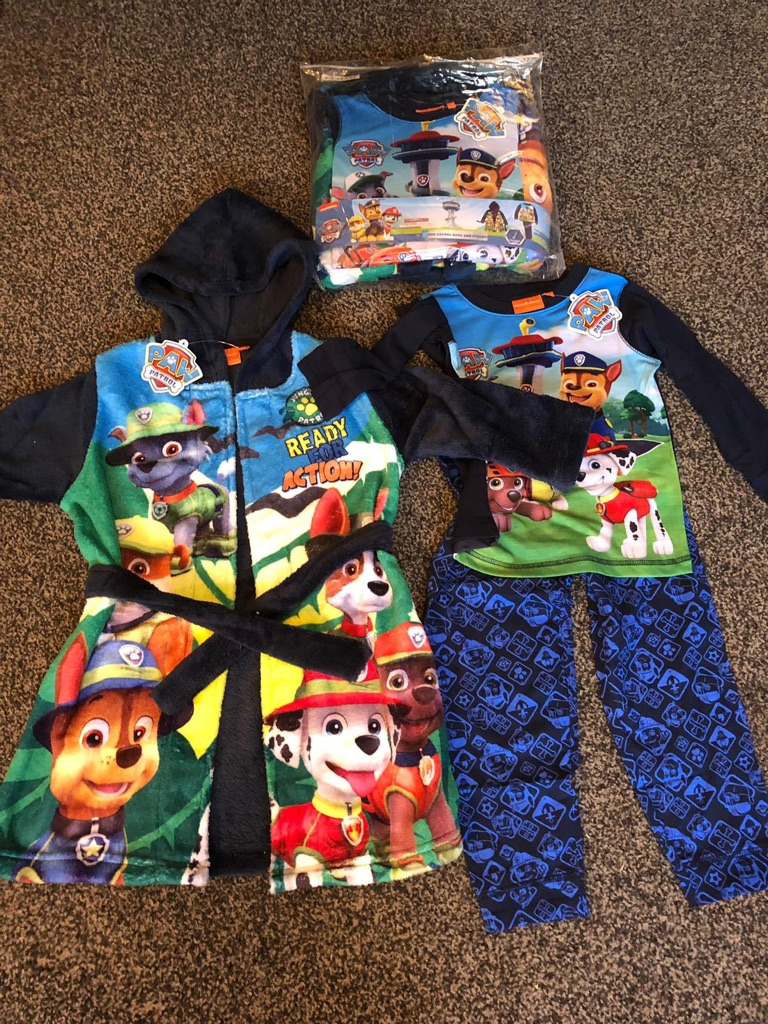 Brand new kids pj and night gown set