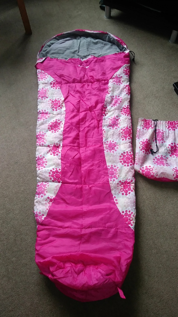 Trespass girls Mummy sleeping bag
