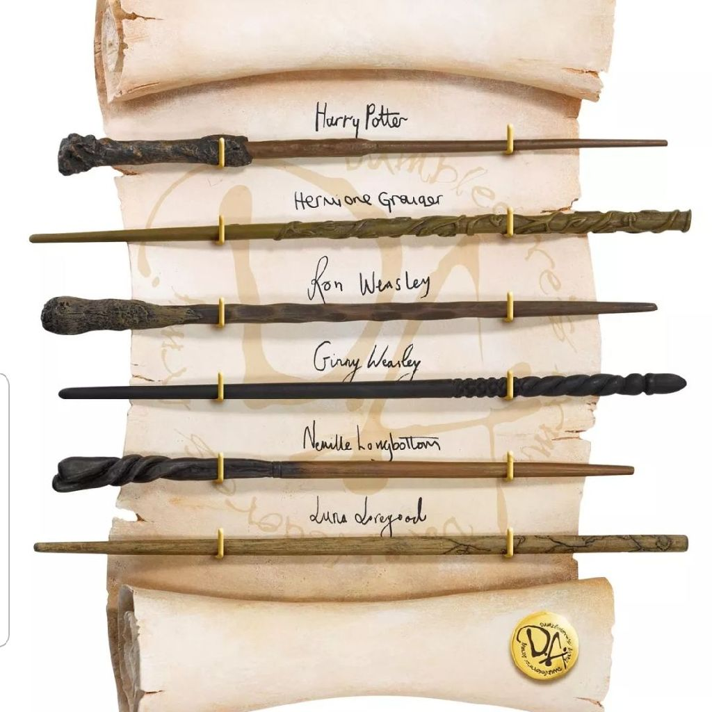 Harry Potter noble collection Dumbledore army wands