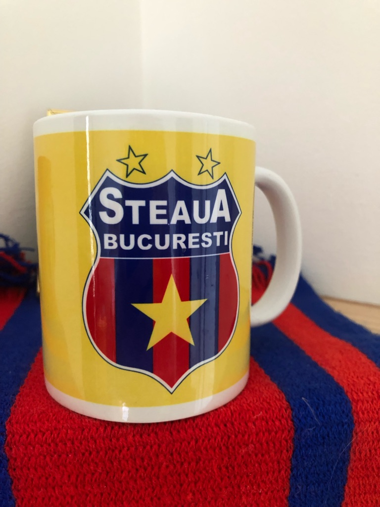 Yea/Coffee Mug FOOTBALL CLUB STEAUA BUCUREȘTI I ❤️⭐️