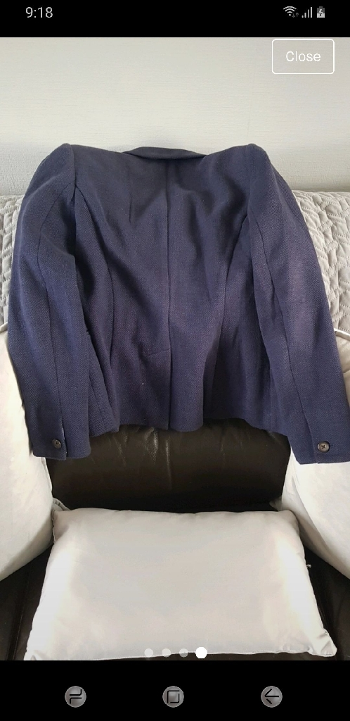 Joules coat ladies size 12 more like 8-10