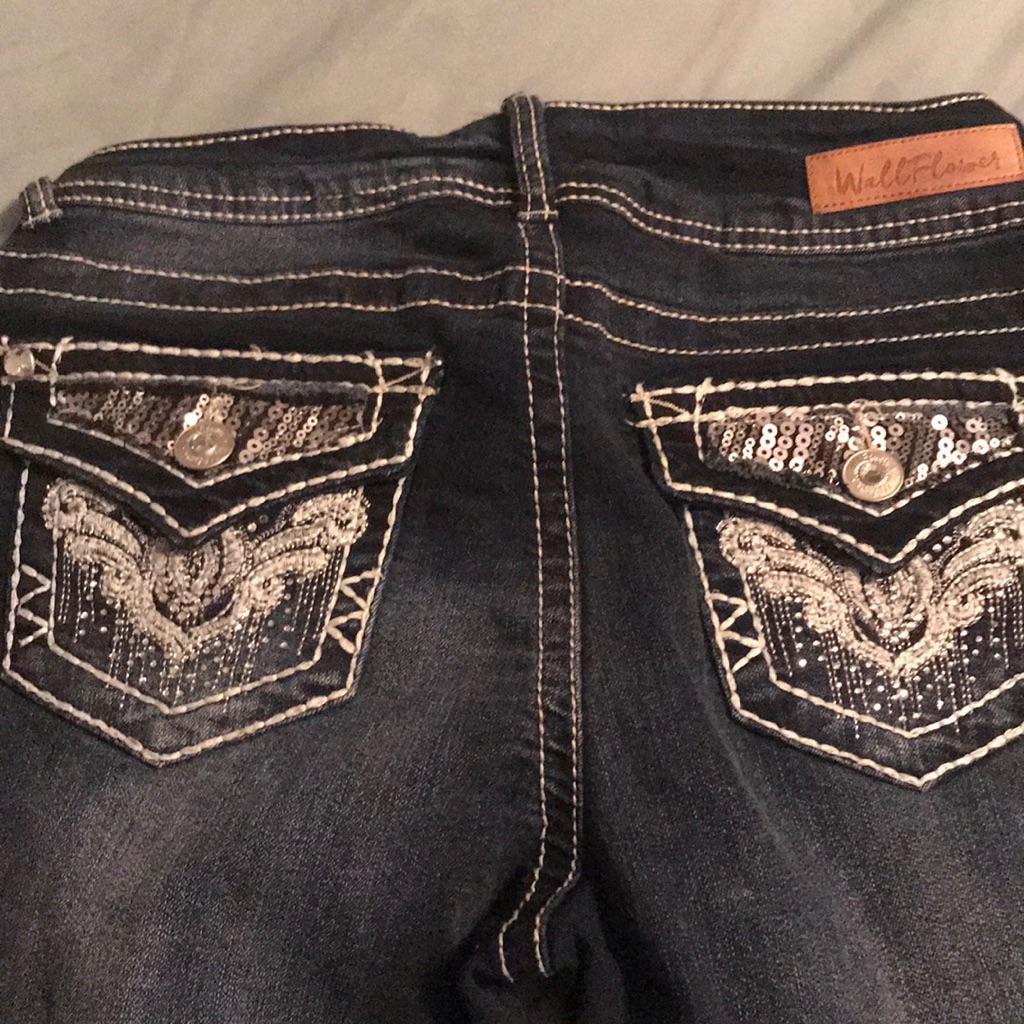 Wallflower jeans.