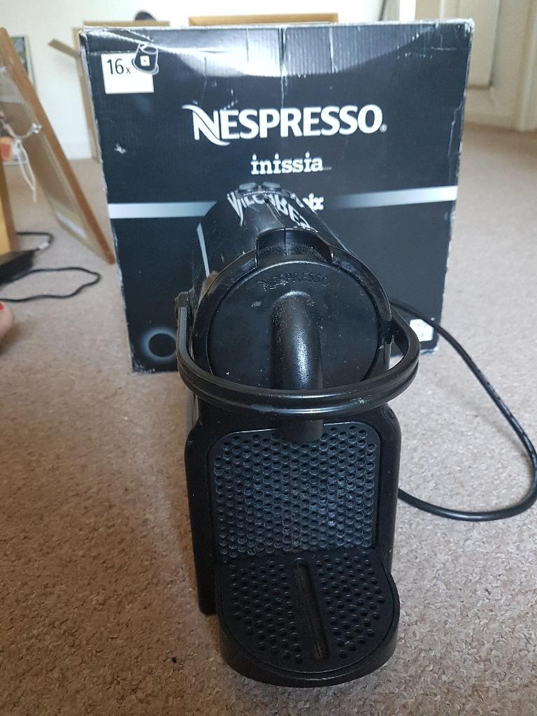 Nespresso Inissia (Black)