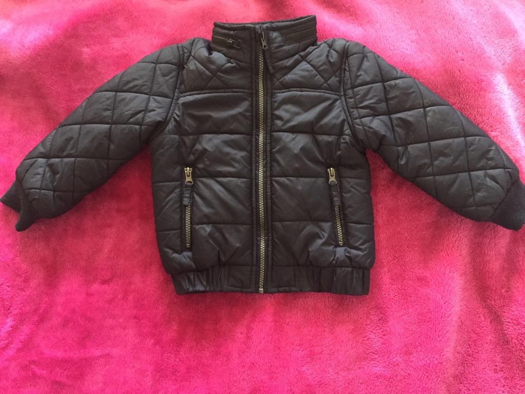 Boys coat M&S size 3-4