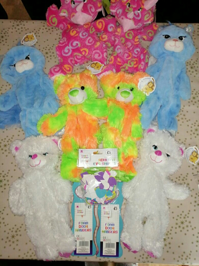 Build your own bear party for 10