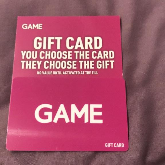 £20 Games Voucher
