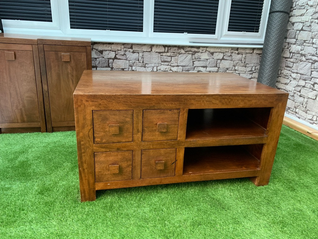 Tv unit and side cabinets