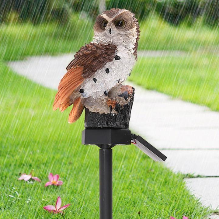 Owl Solar Powered Garden Light LED Outdoor