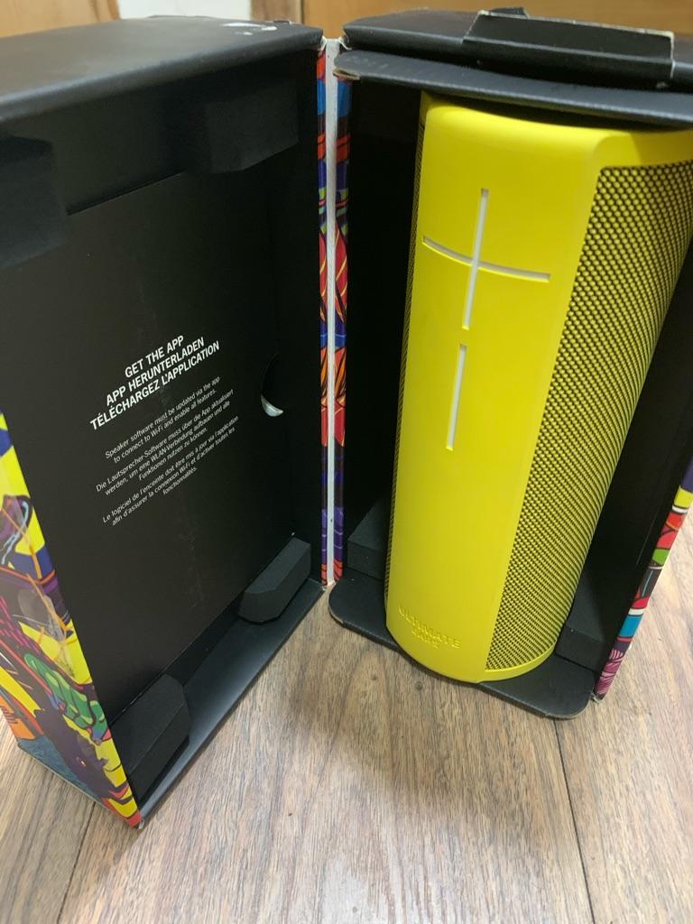 Ultimate Ears Megablast -Like New Crazy Wireless Speaker
