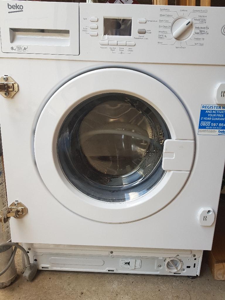 Beko intergrated washing machine
