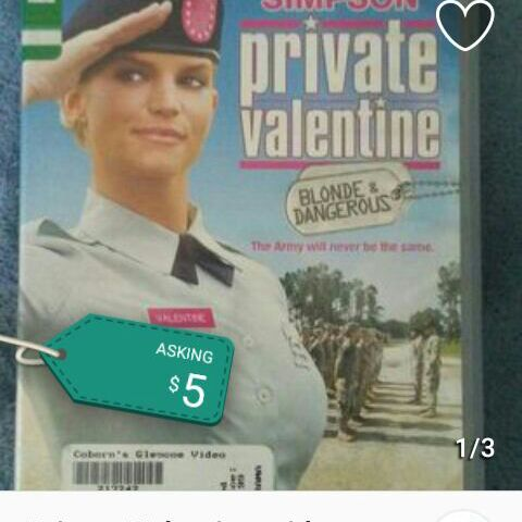 Private Valentine DVD with Jessica Simpson