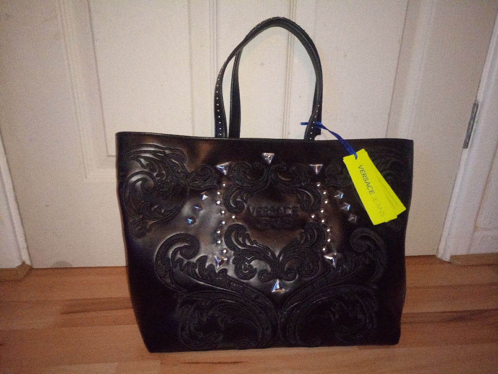 Versace handbag new