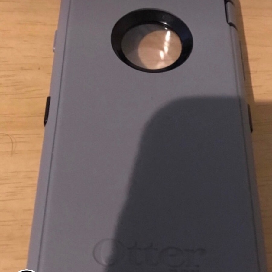 iPhone 6 Gray and black otter box case
