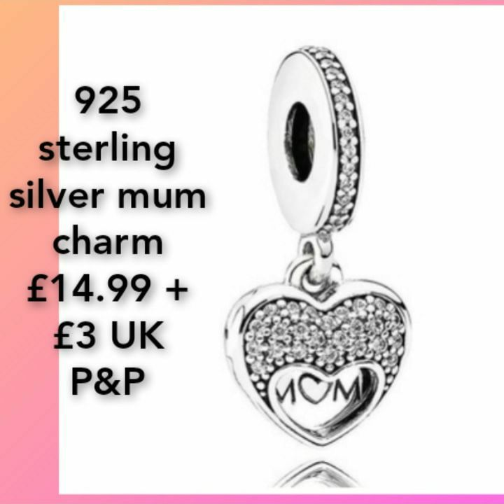 925 sterling silver mum charm💥