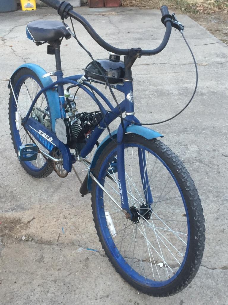 Motorized bike new build! Runs great $225!!
