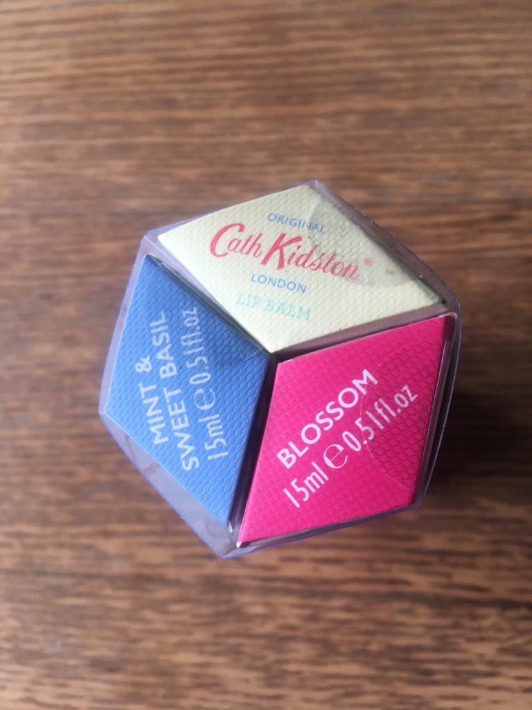 Cath Kidston Trio Lip Balms New £3 Each £7.50 Set (postage available)