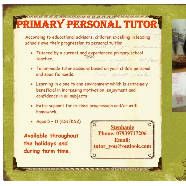 Primary Tutoring