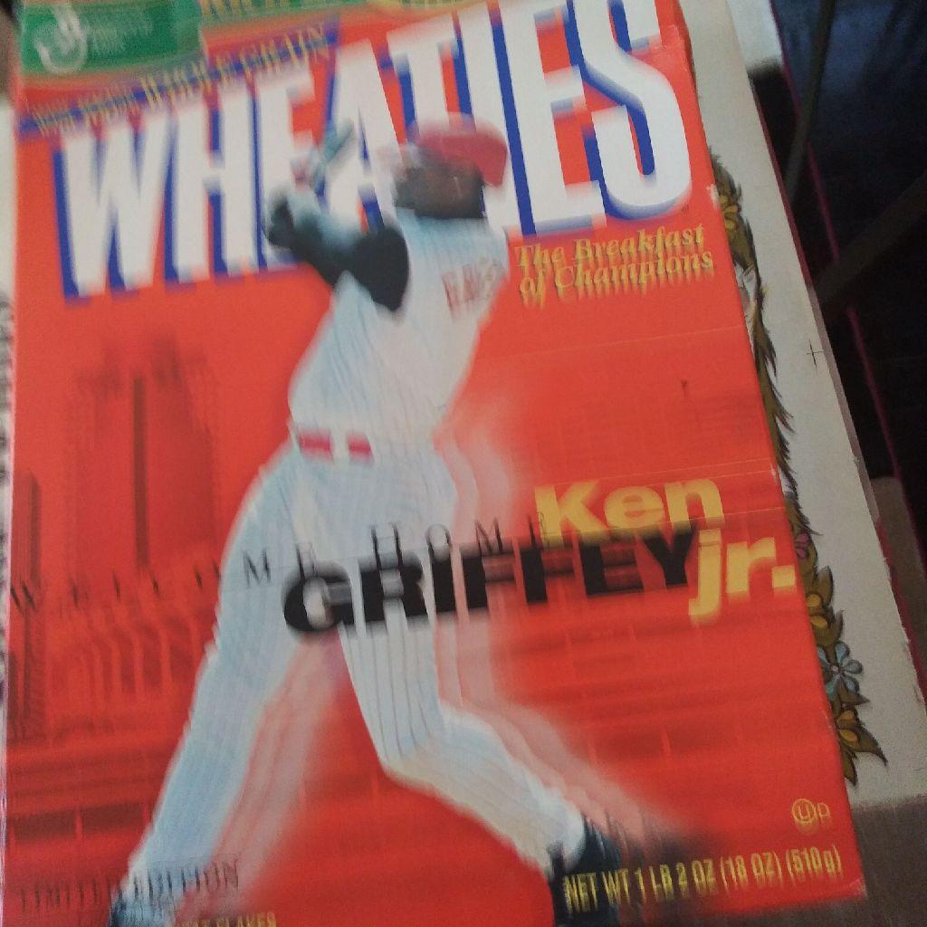 2000 ken griffey jr wheaties box