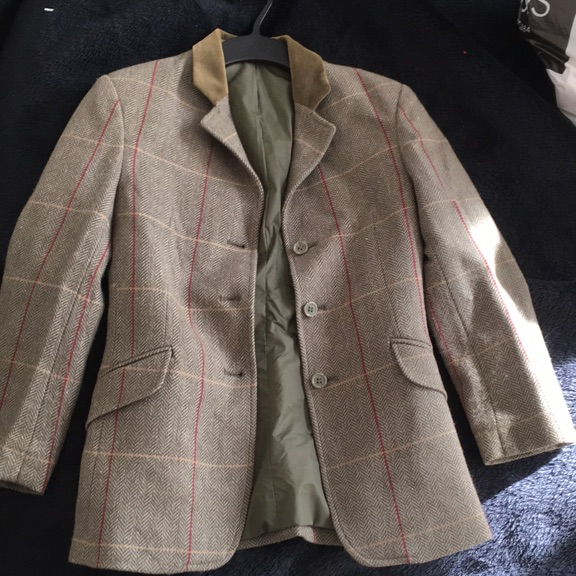 Child's hacking show jacket