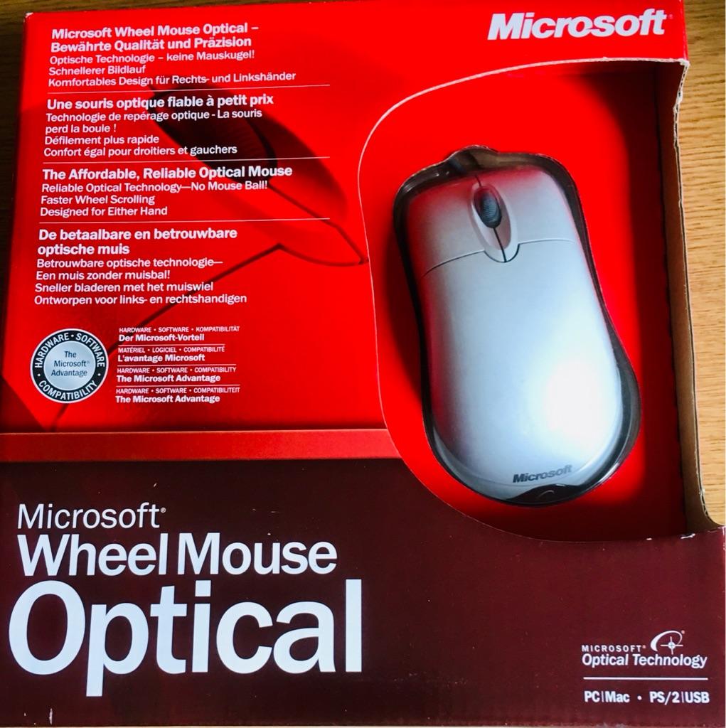MICROSOFT WHEEL MOUSE OPTICAL