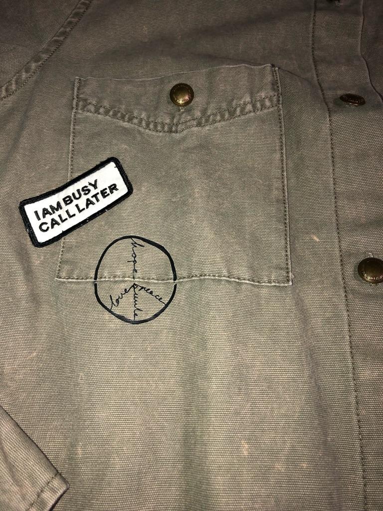 Zara Basics button up shirt