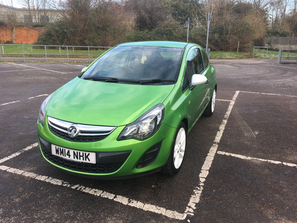 Vauxhall Corsa Sting 1.2 2014 Plate 38,900 Miles