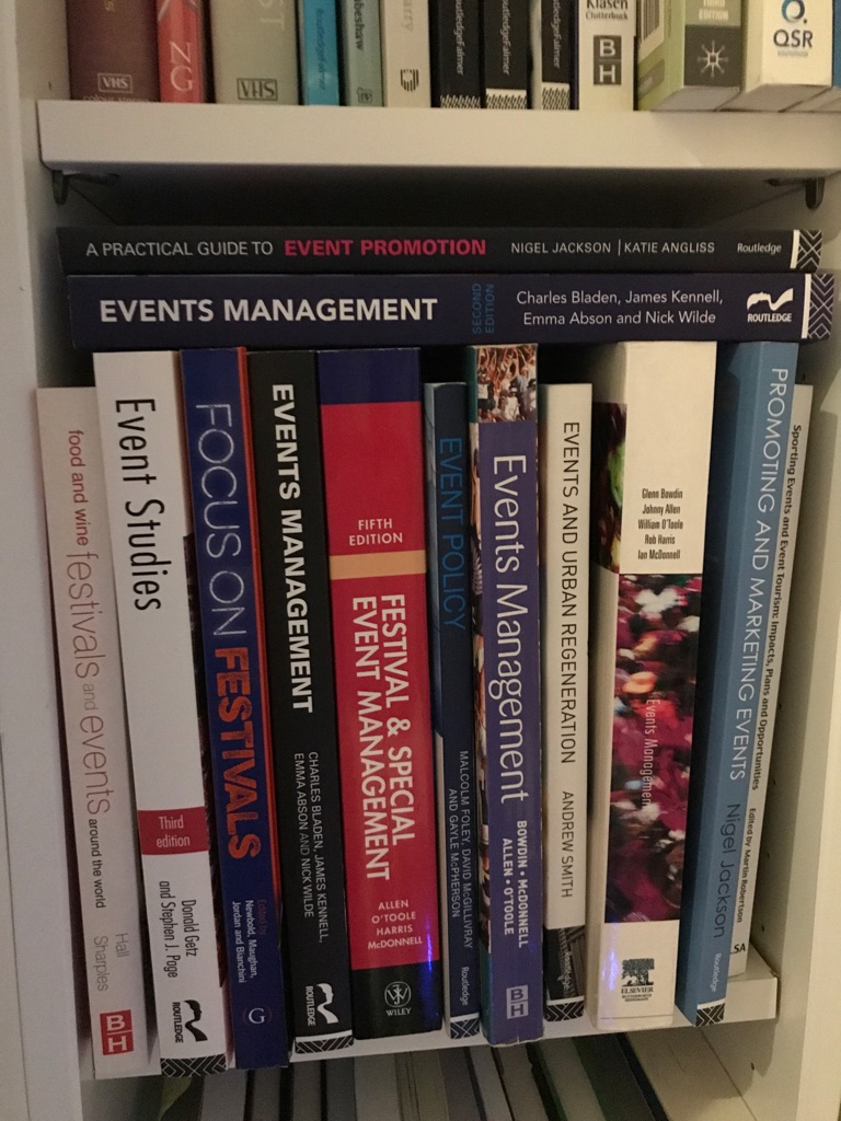Sports and Events Management Books