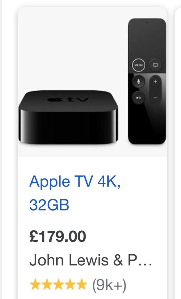Apple TV 4K Brand New